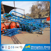 Widely used mobile belt conveyor with national standard