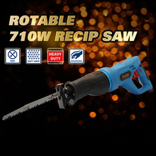 Porfessional 710w electric saw,electric reciprocating saw, tool-less blade hand saw, quick change AC power tools,