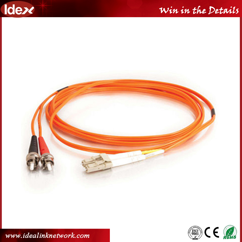 Telecom networking LC-SC UPC connector Optical Fiber Patch cord