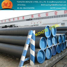 building construction material with seamless pipe