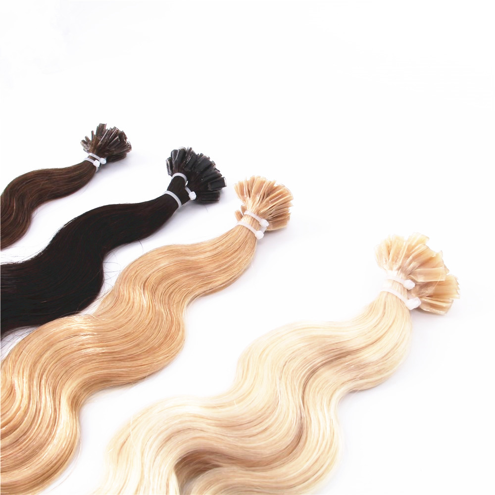 best selling remy prebonded hair extensions