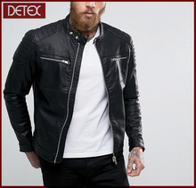 Latest Design Low Prices Slim Fit Leather Jacket Men