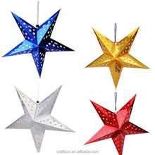 Chinese manufacturing paper crafts star lantern with ex factory price