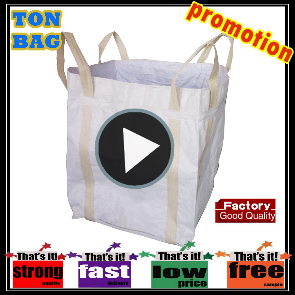 BOPP printing polypropylene jumbo bags for chemical and urea packing