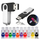 Wholesale Customized logo bulk swivel USB Flash Drive 1GB 2GB 4GB 8GB 16GB 32GB 64GB