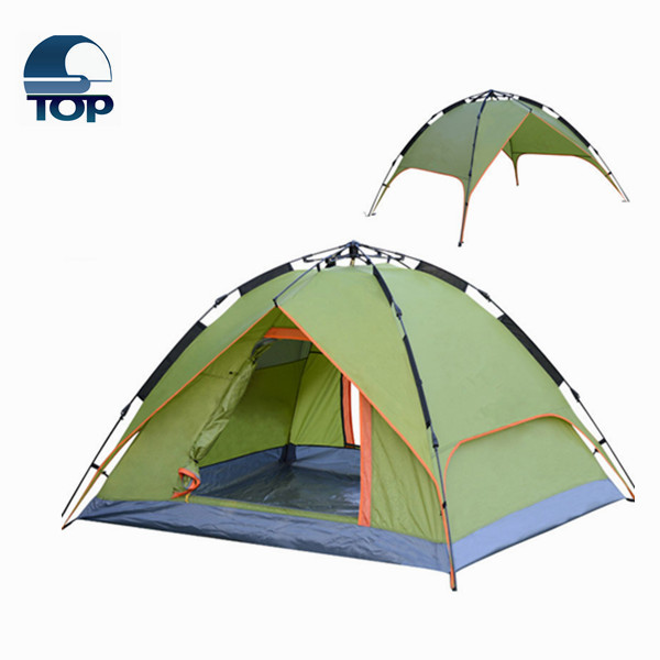 Camping Tent for 2 Person Outdoor Tent Double Skin Folding Tent
