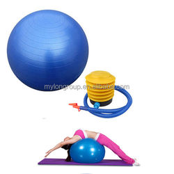 China factory anti burst daily sports different color yoga ball
