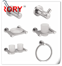 European stainless steel 304 bathroom set , bathroom sanitary set , price bathroom accessoies set china