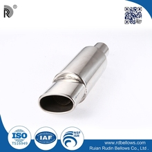 Factory supply high performance flange stainless steel car small engine muffler