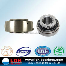LDK TS16949 Certificated pillow block insert ball bearings uk209