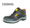 dual color PU injection sole steel toe and plate insert safety shoes for Middle East