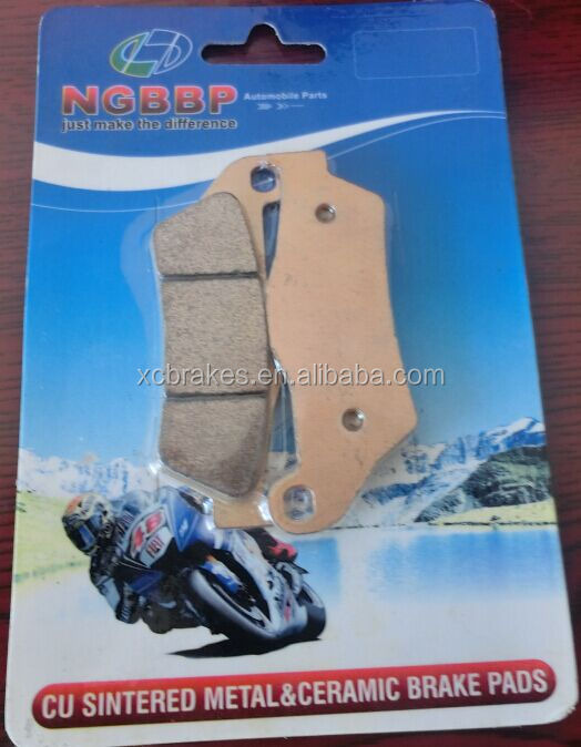 the leading manufactuer supply sintered brake pad ,TVS Motorcycle Spare Parts Brake Pad For APRILIA
