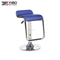 Competitive price popular red leather seat height adjustable bar chair