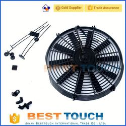 SURF HILUX 2.4/2.0 LN130 AT/MT OIL THREAD 1990-96 bus 16'' inch radiator fan for Toyota