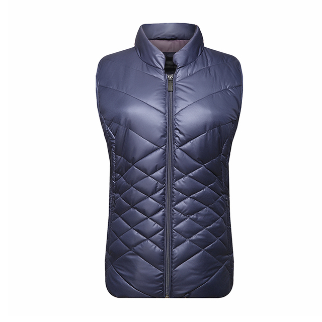 Quilted 100% nylon polyester quilting Vests for Women