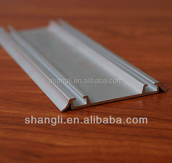 Online shop China aluminum sliding door track sliding top rail and bottom rail