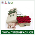 Manufactures flower cylinder box cardboard packaging flower gift box in China