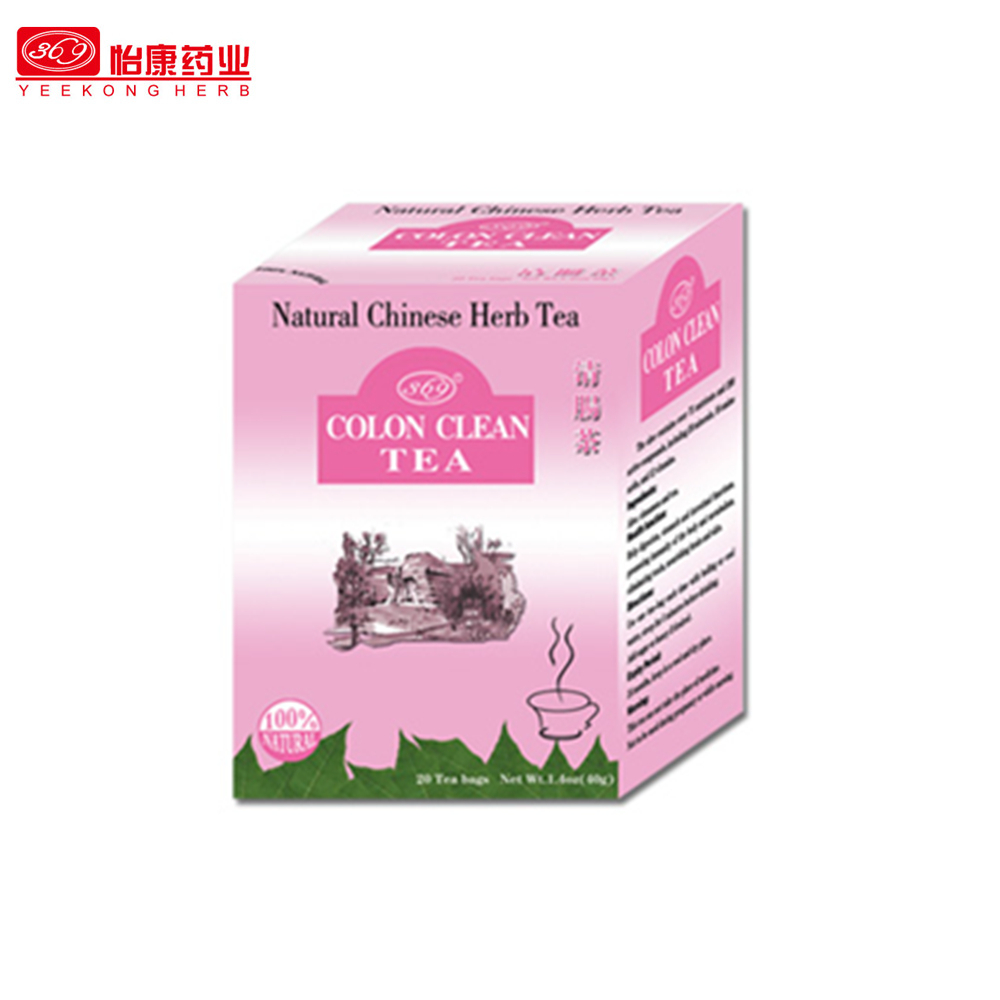 Best sell Natural Chinese detox slim HerbTea Colon Cleanse Tea for skin beauty