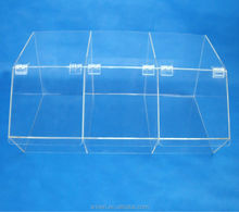 FJ-0103 China Manufacture Clear Acrylic Stackable Candy Bins