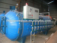 higher efficiency tire retreading machine with cold retreading type