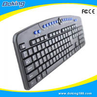 Standard style mini multimedia computer keyboard type