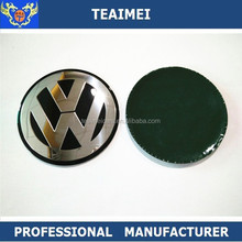 Custom Car Logo Metal Aluminum Wheel Center Cap Sticker