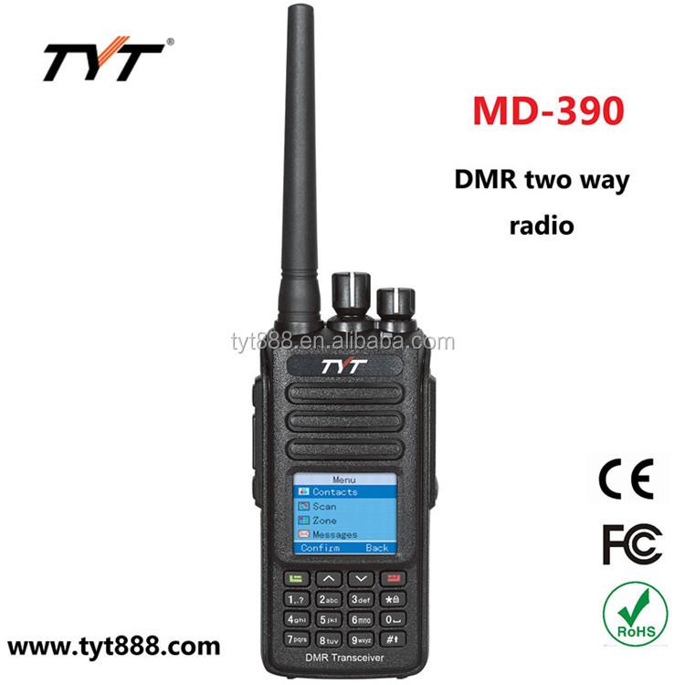 US TYT MD-680 DMR Analog Digital UHF *10W* Two-way Ham Radio 2200mAh Transceiver