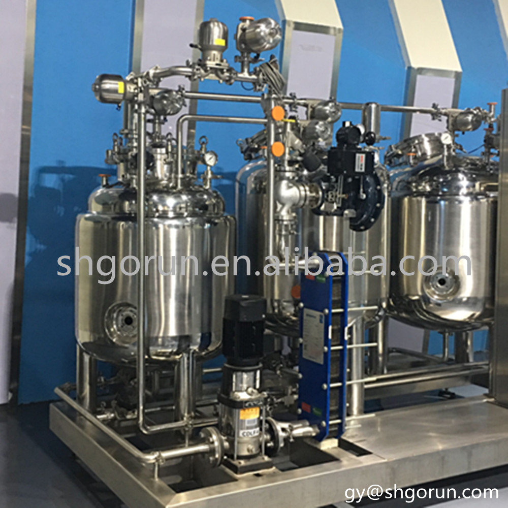 Customized Stainless Steel CIP System Milk Equipemt Cleaning CIP System