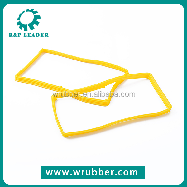Cheap custom colorful self-Lubricant silicone/nbr rubber seal strip