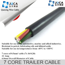 6mm Twin Core, Sheath Automotive Auto Dual Battery Cable Wire Trailer