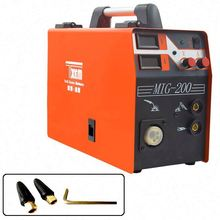Portable Used Small Mig Welding Machine 200 220 v Gasless Gas Prices In India
