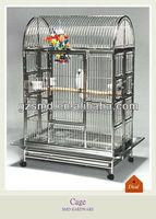 Factory folding metal pet cage 304 Stainless Steel Bird Cage
