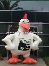 giant inflatable advertising balloon,inflatable chicken balloon for advertise F1029