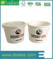 wholesale fashioable paper ice cream cups with lids
