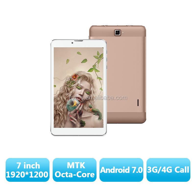 "Tablet 7 inch 1920*1200 IPS 3G 4G lte Octa Core MT8783 32GB ROM 5MP+13MP Android 6 GPS Bluetooth, 4g lte 7"" tablet phone"