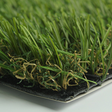 Thick garden kids artificial grass turf with dry grass mix Decking type turf