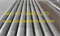 Stainless Steel Perforated Casing Pipe for Well drilling