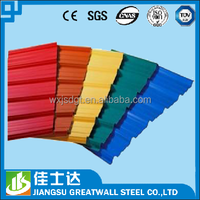 corrugated metal sheets /galvanized metal roofing price / color coated galvalume gl sheet