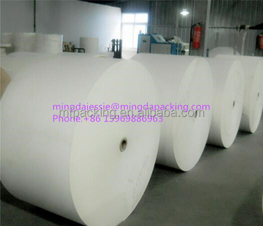 Disposable degradable PE coated paper