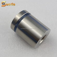 stainless steel solid advertisement fixing glass standoff pin screw fasteners