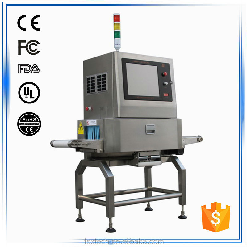 x ray inspection machine for food processing industry