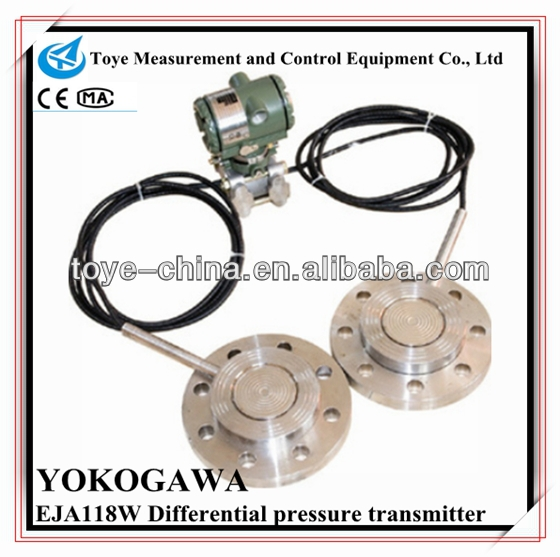 YOKOGAWA flange mount wireless differential pressure transmitter 4-20ma