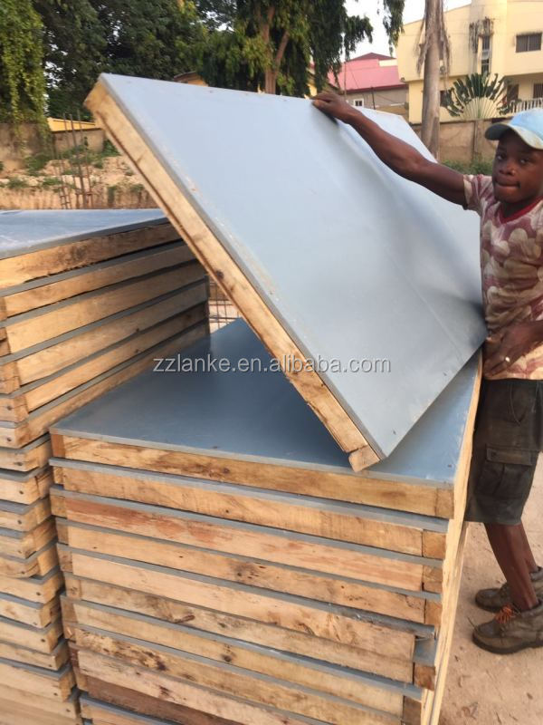 concrete form wpc board hard plastic sheet concrete forms