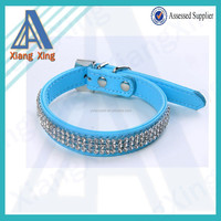 In stock mixed color and size fake diamond dog collar