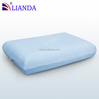 High Class Breathable Velvet Case Memory Foam Pillow, Big Square Space Memory Foam Bedding Pillow