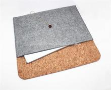 Eco friendly Wood Cork case For mac book pro case