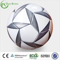 Zhensheng PVC Leather Machine Sewn Soccer Ball in Size 5 Suitable for Promotional Purpose