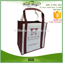 high quality cheap custom pp non woven shopping bag