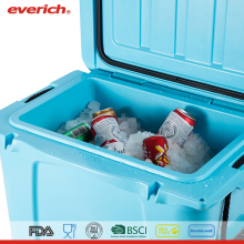 Outdoor Plastic Cooler Box With Beer Opener And Holder