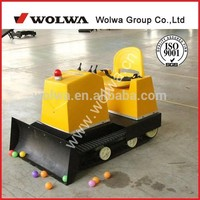 storage battery drived mini rc bulldozer for Indoor and Ourdoor amusement park